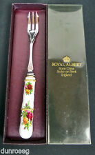 Old Country Roses Pickle FORCELLA, gen. buone condizioni, Made in England, Royal Albert