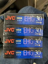 New listing New Jvc Ehg Compact Vhs 90 minute tapes - 4 pack - Tc-30 Ehg