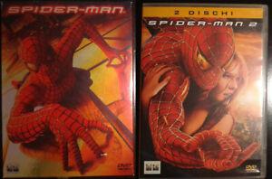 DVD Spider Man 1 e Spiderman 2 Edizione Digipack 2 dischi