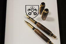 700 Year Old York Minster Cathedral Oak Pen SET Limited Supply