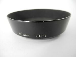 NIKON HN-3 LENS SHADE FOR 35/1.4 BLACK ALUMINIUM CLEAN 52MM