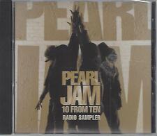 Pearl Jam: 10 From 10 Radio Sampler (CD, 2009)