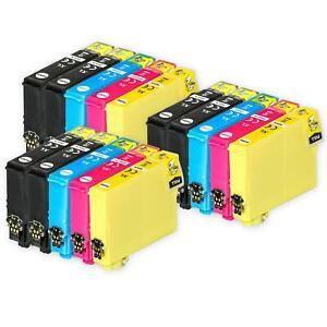 15 Ink Cartridges (Set+Bk) for Epson Stylus SX130 SX420W SX430W SX440W