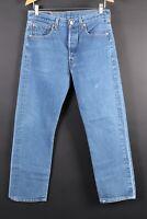Vintage LEVIS 501 XX Button Fly Denim Jeans USA Mens Size 33x33 Actual (30x30)