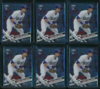 2017 Topps Chrome Cody Bellinger 6 RC Card Lot Rookie #79 Los Angeles Dodgers