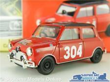 MORRIS MINI COOPER MODEL CAR RED PAT MOSS RALLY 1:43 VANGUARDS VA25007 AUSTIN K8