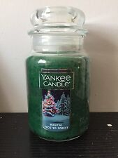 Yankee Candle Magical Frosted Forest Large Jar. USA 🇺🇸 Exclusive