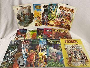Lot x16 1978 ELFQUEST 1-21 Gatherum TPB Comic Magazines Warp Graphics Pini 19-20