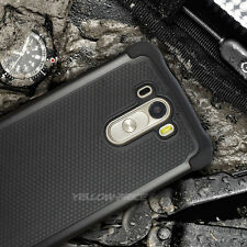 Genuine Yellow-Price Hard Drop Armor Dural Case Cover For LG G3 2014 RELEASE