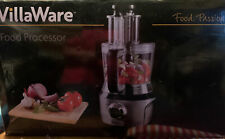 Villawaer 12 Cup Food Processor Ndvlfp1000 ,10pcs