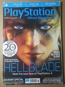 PlayStation Official Magazine Christmas 2014 #104 (376) Hellblade