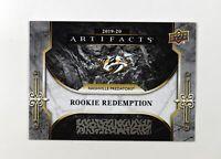 2019-20 UD Artifacts Base RC Redemption #RED197 Nashville Predators
