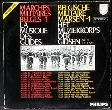 Marches militaires belges Musique des guides Philips Holland LP & CV EX