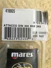 DACOR MARES 1ST STAGE REGULATOR YOKE TO DIN CONVERSION KIT, 416805
