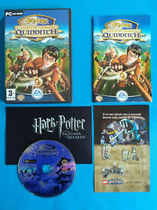 Videogame Pc Cd-Rom HARRY POTTER La Coppa Del Mondo Di Quidditch EA Games (D4)