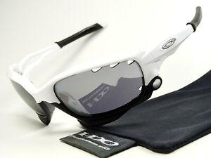 Oakley Jawbone White Black Sonnenbrille Straight Fast Radarlock Racing Jacket XX