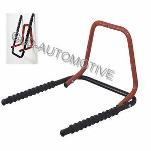 PORTABICI da Parete Garage Peruzzo Bike Hanger per 3 Biciclette Protezione Gomma