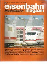 EISENBAHN 06-91 HIGH-TECH-BAHNBETRIEBSWERK HAMBURG-EIDELSTEDT / TOURNON-LAMASTRE