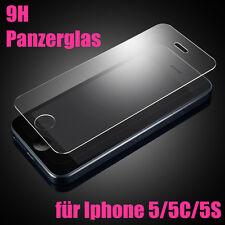 iPhone 5s 5 SE 9H Panzerglas Glasfolie Echt Glas Displayschutz Schutzglas Folie