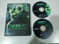 Hulk Edicion Especial Eric Bana - 2 x  DVD + Extras Español - 1T