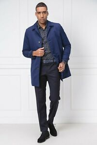 Tommy Hilfiger Tailored coat padded car cappotto uomo blu navy it 50 l large