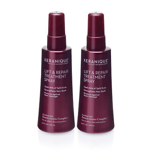 Keranique Lift and Repair Treatment Spray for Thicker Fuller Hair, Pack of 2