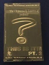 DJ Clue This Is It! Pt.2 NYC 90s Hip Hop Classic Mixtape Cassette