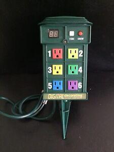 NOMA Digital Decorating INSTANT LIGHT SHOW 19 Pre-Programmed Shows Controller