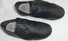 Girls/boys size 12 Sportlight ABT leather,  black ballet/dance shoes
