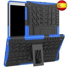 XITODA Samsung Galaxy Tab A 10.1 2019 Funda, Armor Style Hybrid PC (Azul oscuro)