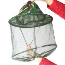 Outdoor Mosquito Resistance Bug Insect Bee Net Mesh Head Face Protector·Hat.,fr