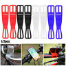 Bicycle Handlebar Phone Fixing Cycling Light Holder Silicone Strap Band