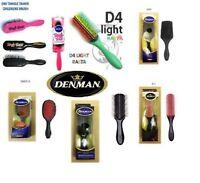 DENMAN DETANGLING STYLING HAIR BRUSH D1 D3 D4 D5 D14 D80 D85 D100 D84 D90