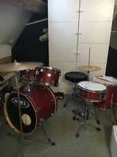 More details for mapex v-series drum kit with silent stroke heads
