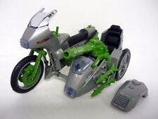 "GI JOE SILVER MIRAGE MOTORCYCLE Vintage 6"" Action Figure Vehicle COMPLETE 1985"