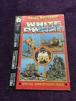 WHITE DWARF MAGAZINE SPECIAL ANNIVERSARY ISSUE GAMES WORKSHOP WARHAMMER 1988