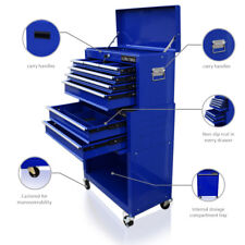 429 US PRO TOOLS MECHANICS LARGE BLUE TOOL CHEST BOX ROLLER CABINET BALL BEARING