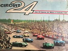 Circuit 24 coffret n°2 24 HEURES DU MANS 1/30 2 voitures Panhard SLOT CAR