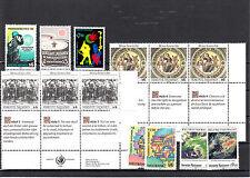 Österreich, UN Wien Jahrgang  1989, postfrisch, siehe Scan