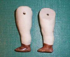 """Antiguo piernas para la fijación de alambre de muñeca casa de muñecas 1.56"""""""