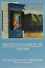 "Edward Hopper ""Cape Cod Morning"" Albany Museum Of Art 1985 Lithograph NOS"