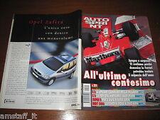 AUTOSPRINT 1999/21=RALLY SAN MARINO NAVARRA=SUPERTURISMO ALFA=INDY LUYENDYK=
