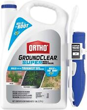 Ortho GroundClear Super Weed & Grass Killer1, Comfort Wand, Kills the Root 1 Gal