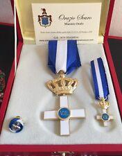Set Cavaliere Ufficiale Ordine al Merito di Savoia in argento 925