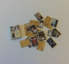 Dollhouse Miniature Mystic Tarot Cards 1:12 Scale Halloween Witch Spells