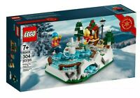NEW LEGO 40416 Ice Skating Rink - FACTORY SEALED - FAST FREE SHIPPING !!!