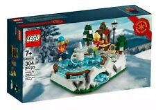 New Lego 40416 Ice Skating Rink - Factory Sealed - Fast Free Shipping !