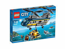 Multi-Coloured City LEGO Building Toy Helicopter