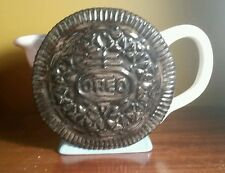 Oreo Cookie pitcher Vintage Milk Jug Nabisco Classics Collection Ceramic kettle!