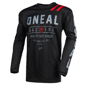 O'Neal Element Dirt MTB Jersey Breathable Black Grey